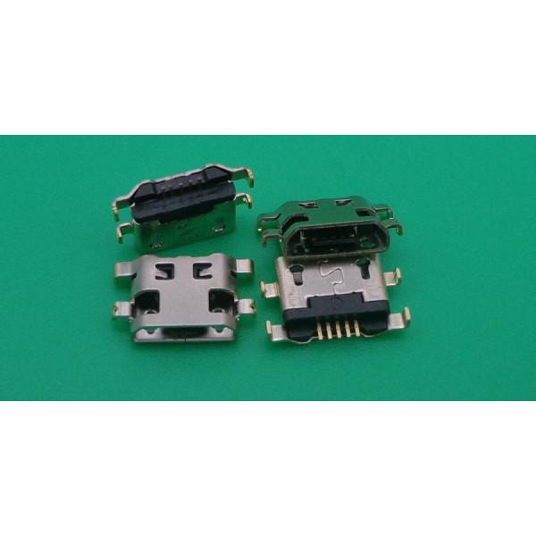 R58 Разъем MicroUSB Alcatel OT-4013D/OT-4033D/OT-4045D/OT-5047D/OT-5085D/OT-6012D/OT-7043Y/OT-7044X