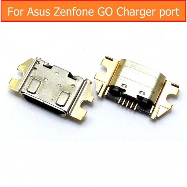 R02 Разъем MicroUSB Asus ZC500TG/ZB452KG/ZB500KL/ZB450KL/ZB552KL/ZB690KG  (ZenFone GO)