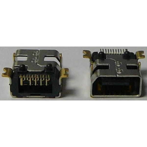 R07 Разъем MiniUSB HTC P3300/P3650