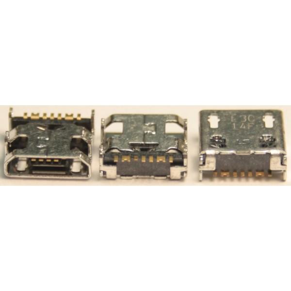 R23 Разъем MicroUSB Samsung S6810/C3592/E1272/E2202/S3332/S3802/S5280/S5282/S7390/S7710