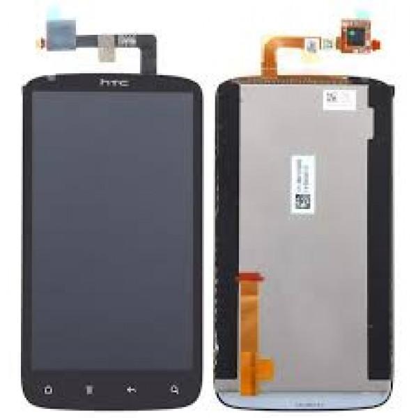 Дисплей HTC SensationXE в сборе с тачскрином Черный