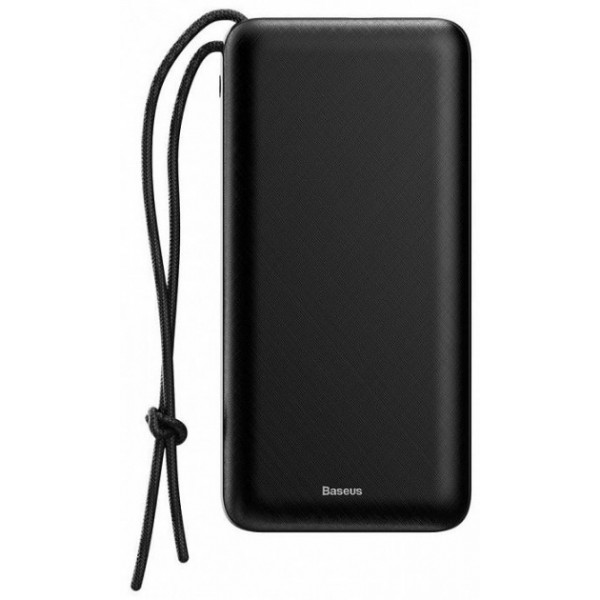 Baseus Power Bank 20000mAh Mini Quick Charger Black (PPALL-DXQ01) черный