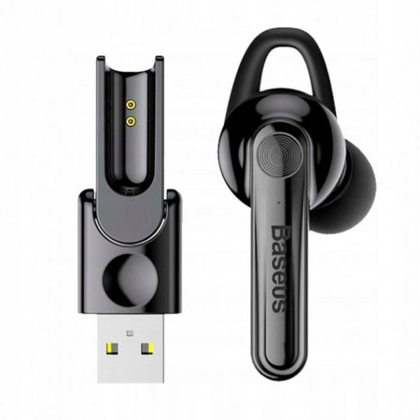Baseus Magnetic Earphone Black Original (NGCX-01)