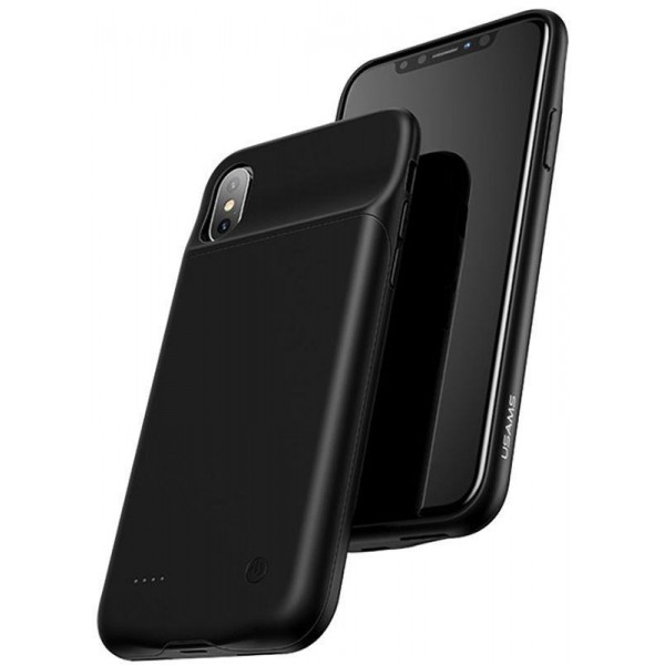 Usams Battery Case 4000 mah iPhone XS Max Black