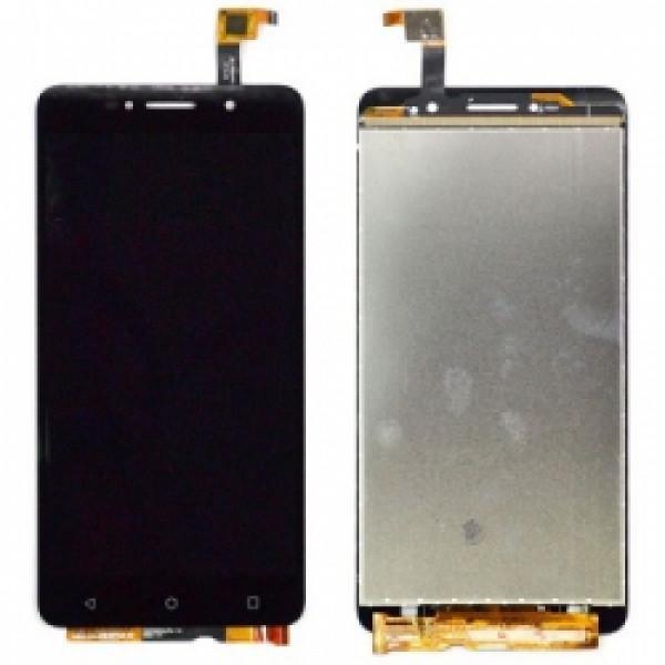Дисплей Alcatel OT-8050D в сборе с тачскрином Черный
