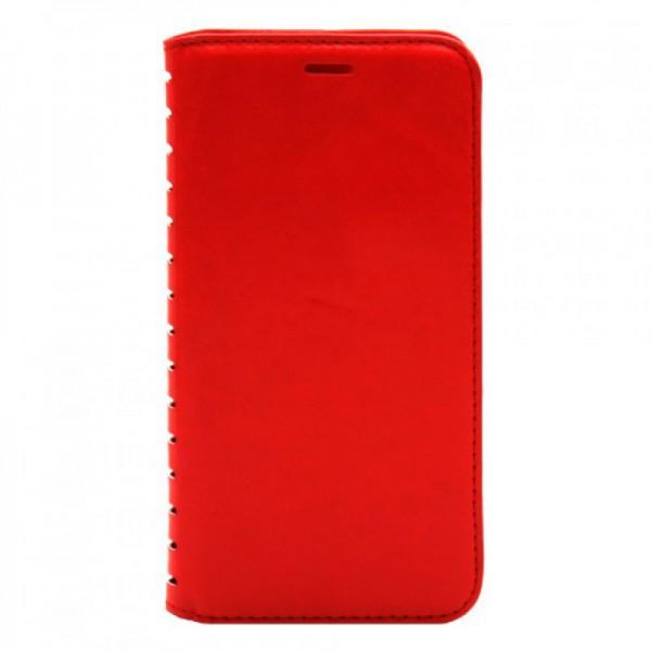 Чехол Книжка Huawei Y6 красный (New Case)