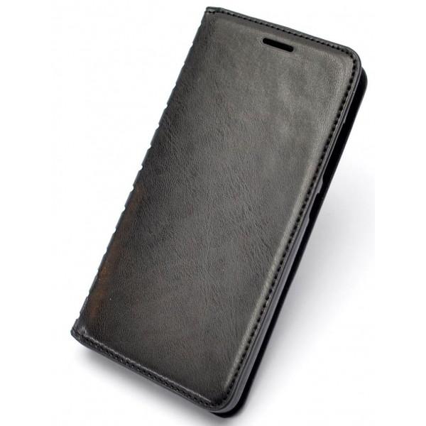 Чехол Книжка Sony C5 черный (New Case)