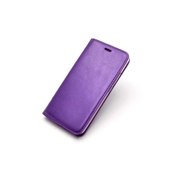 Чехол Книжка Asus ZB500KL (ZenFone Go) фиолетовый (New Case)