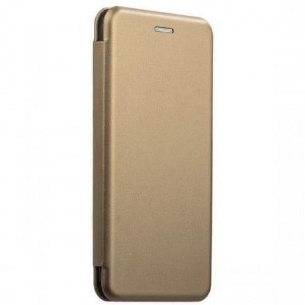 Чехол Книжка Asus ZB552KL (ZenFone Go) золотой (Fashion Case)