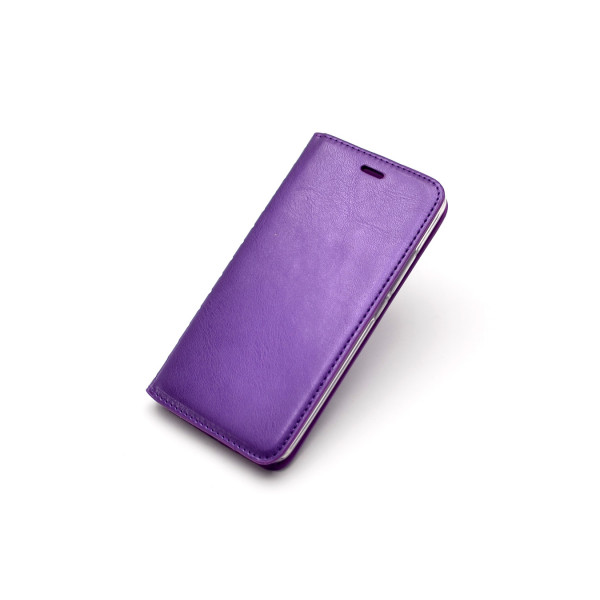 Чехол Книжка iPhone Х фиолетовый (New Ca...