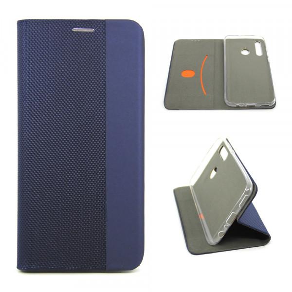 Чехол Книжка iPhone ХR синий (Stylish Case)
