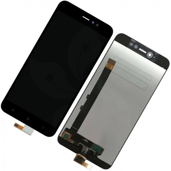 Дисплей Xiaomi Redmi Note 5A Prime в сборе с тачскрином Черный - Оригинал