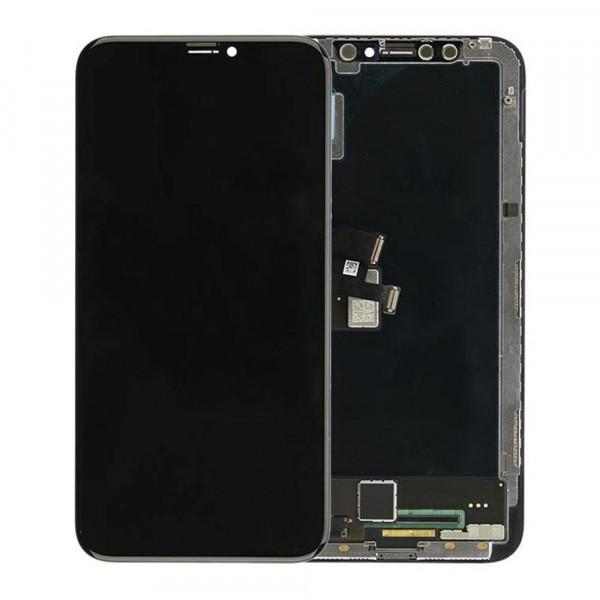Дисплей iPhone X в сборе Черный (OLED GX)