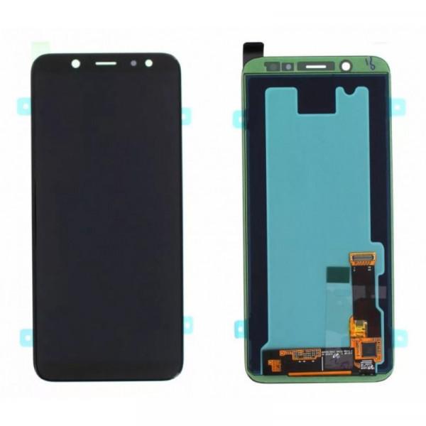 Дисплей Samsung A605F (A6+ 2018) в сборе с тачскрином Черный (OLED)