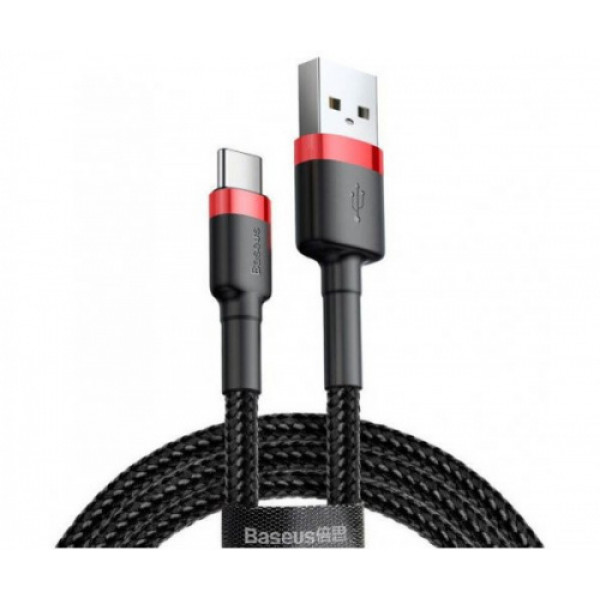 Baseus Cafule Cable USB for Type-C 3A 1M  (CATKLF-B91)