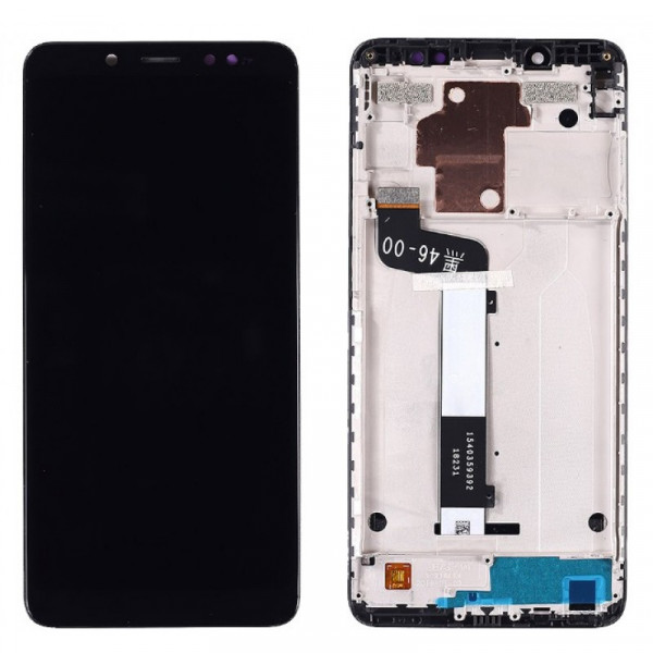 Дисплей Xiaomi Redmi Note 5/Note 5 Pro в сборе с тачскрином Черный (в рамке)