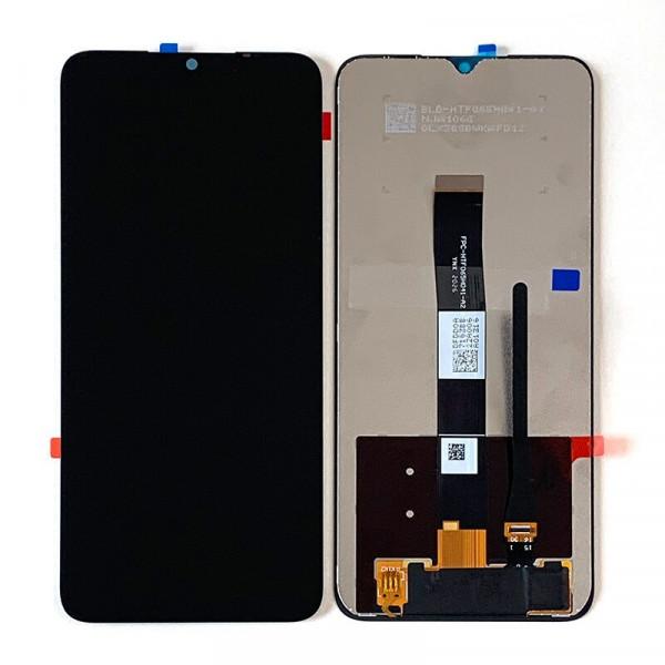 Дисплей Xiaomi Redmi 9A/9C в сборе с тачскрином Черный
