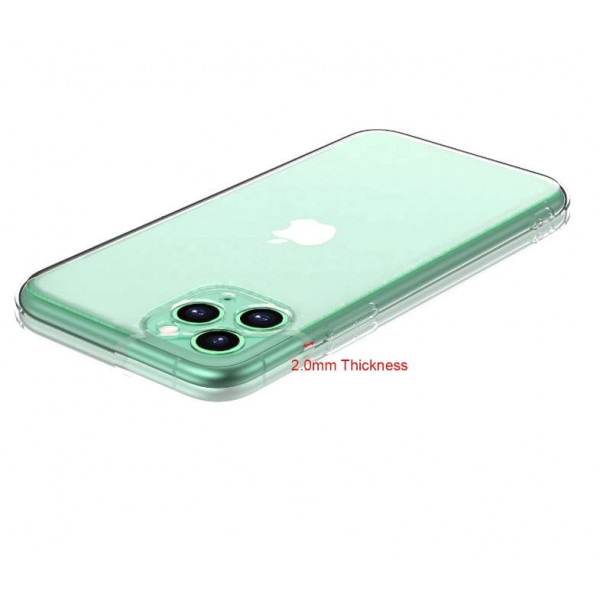 Чехол силиконовый Iphone 12 (6.7) (2.0MM Clear Case)