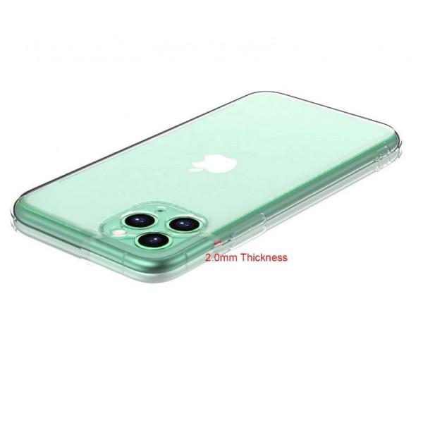 Чехол силиконовый Iphone 12 (6.1) (2.0MM Clear Case)
