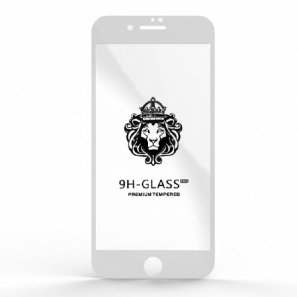 """Защитное стекло 9H """"Полное покрытие"""" Iphone 7/8 White"""