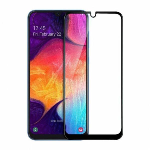 Защитное стекло 9H Samsung A520/A5 2017 Черное