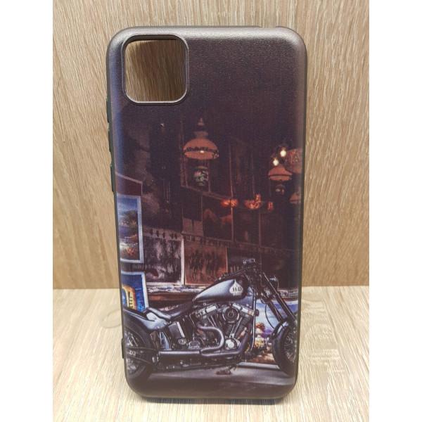 Чехол силиконовый Samsung A01/M01 ( Moto Harly Davidson)