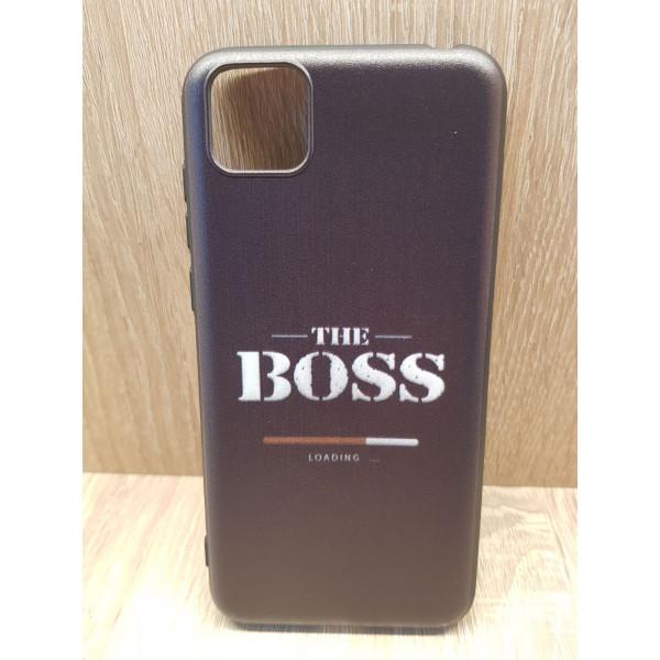 Чехол силиконовый Samsung A20S (BOSS)