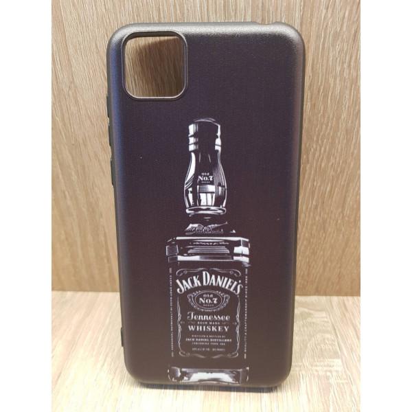 Чехол силиконовый Samsung Note 10 Lite (Jack Daniels)