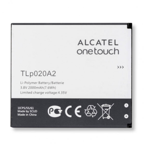 АКБ Alcatel TLp020A2 ( OT-5050X/OT-5050Y )