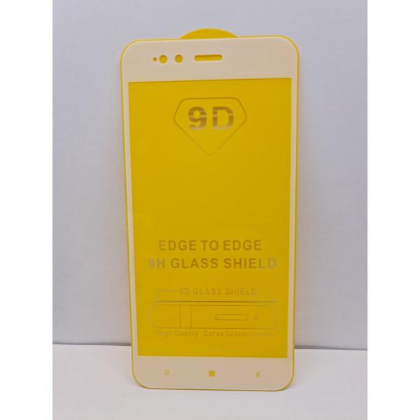 Защитное стекло 9H Xiaomi Mi A1 Белое
