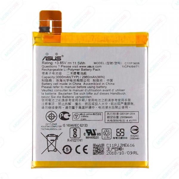 АКБ Asus C11P1606 ( ZC551KL/ZenFone 3 Laser )
