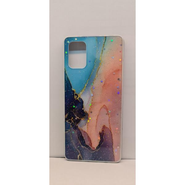 Чехол силиконовый Samsung A01/M01 мрамор №4
