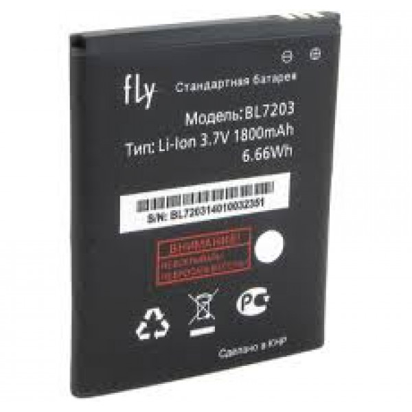 АКБ Fly BL7203 ( IQ4405/Era Chic 1/IQ4413/Quad Evo Chic 3 )