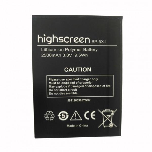 АКБ Highscreen BP-5X-I Boost 2/2SE 2500mAh