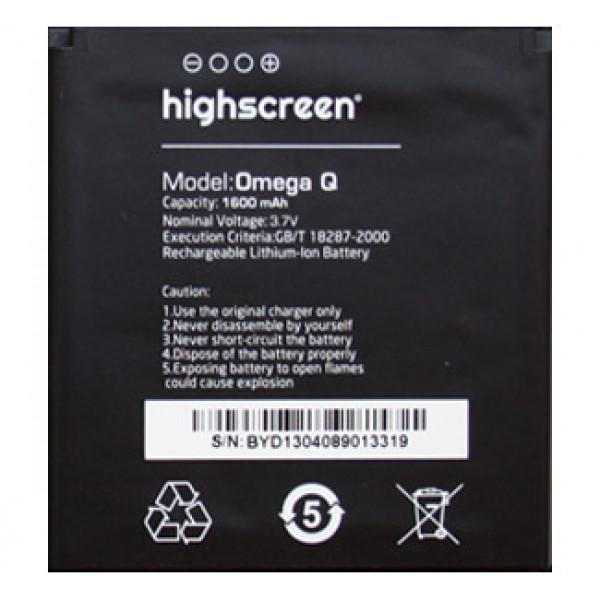 АКБ Highscreen Omega Q