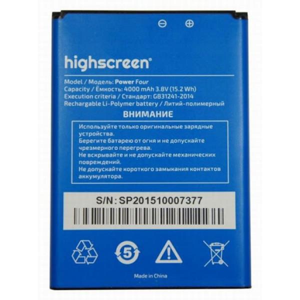 АКБ Highscreen Power Four