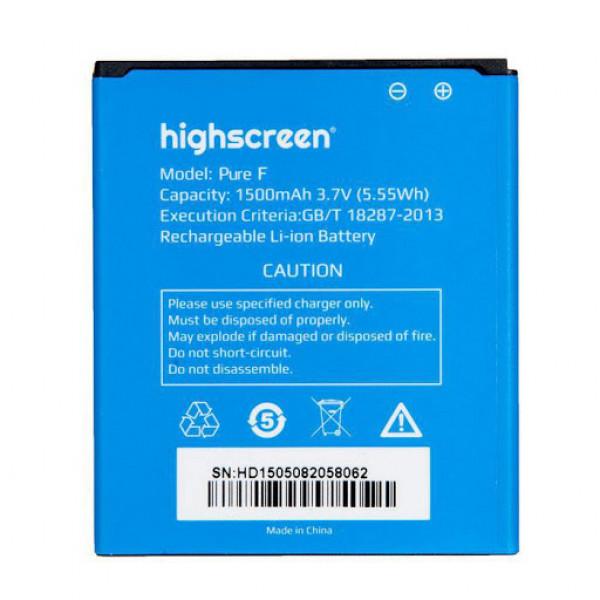АКБ Highscreen Pure F