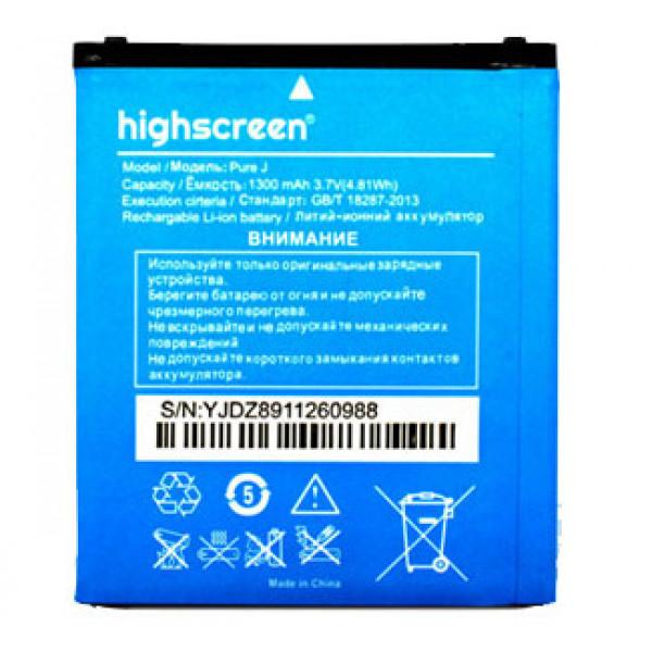 АКБ Highscreen Pure J