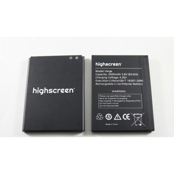 АКБ Highscreen Verge
