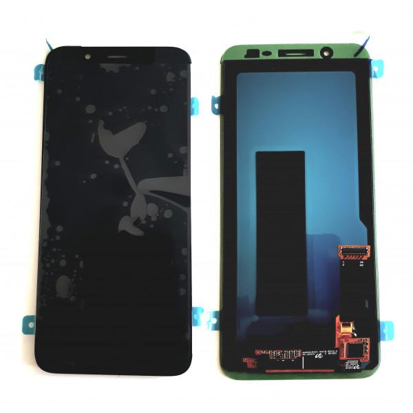 Дисплей Samsung J600F (J6 2018) в сборе с тачскрином Черный - (Oled)