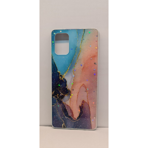 Чехол силиконовый Xiaomi Redmi Note 9 мрамор №4