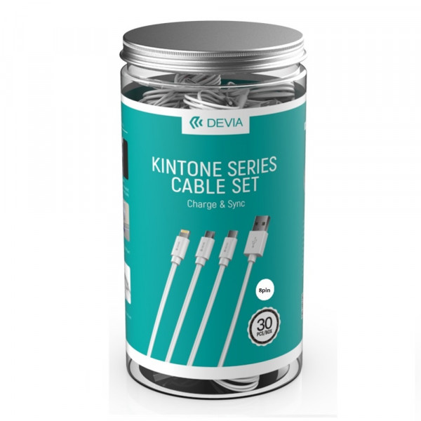 Кабель Devia Kintone Series Cable Set For Type-C (30 PCS)