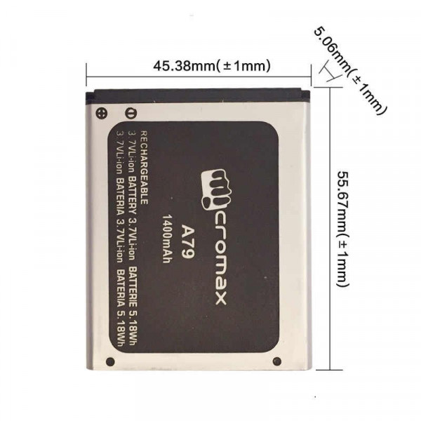 АКБ Micromax A79 ( Bolt )