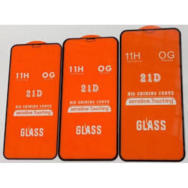 """Защитное стекло 21D """"Полное покрытие"""" Iphone 12 Mini"""