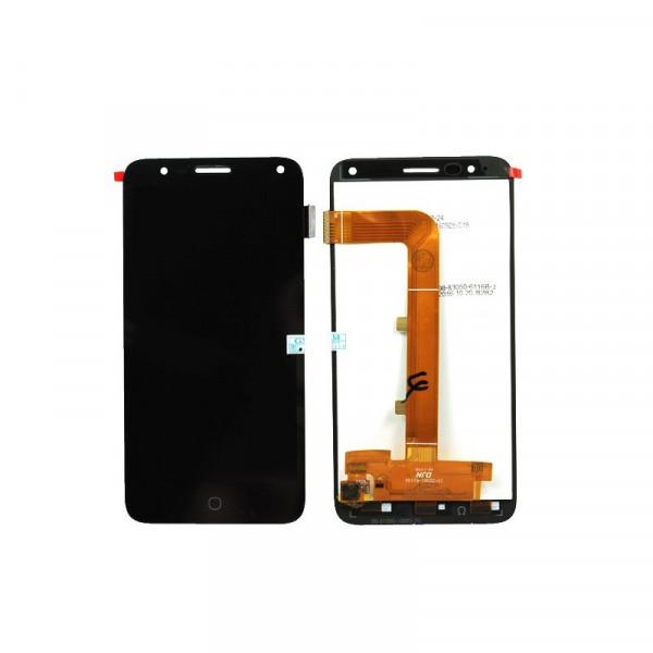 Дисплей Alcatel OT-5051D (Pop 4) в сборе с тачскрином Черный
