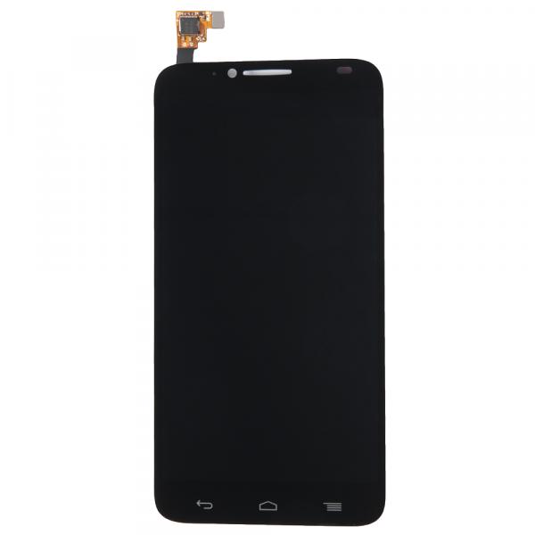 Дисплей Alcatel OT-6037Y/6037K (Idol 2) в сборе с тачскрином Черный