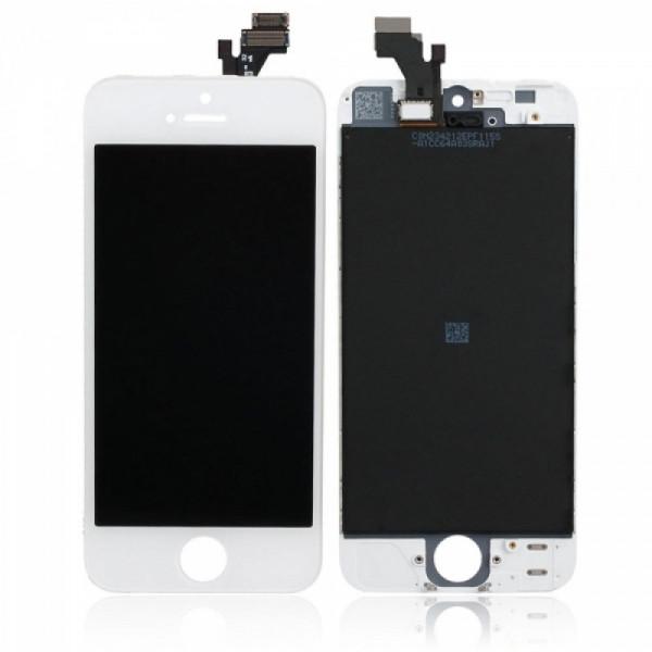 Дисплей iPhone 5 в сборе Белый - Оригинал