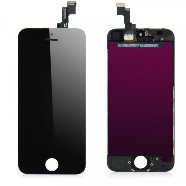 Дисплей iPhone 5 в сборе Черный - Оригинал