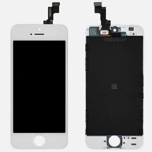Дисплей iPhone 5S/SE в сборе Белый - Оригинал