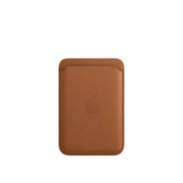 Leather Wallet Case Seddle Brown IPhone 12 (визитница)